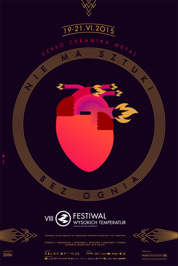 Festiwal Wysokich Temperatur - plakat