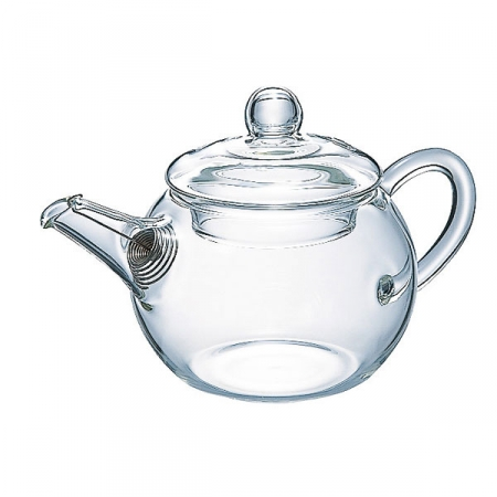 Prezenty dla herbaciarza Hario Asian Teapot Round 180ml - czajniczek dozaparzania