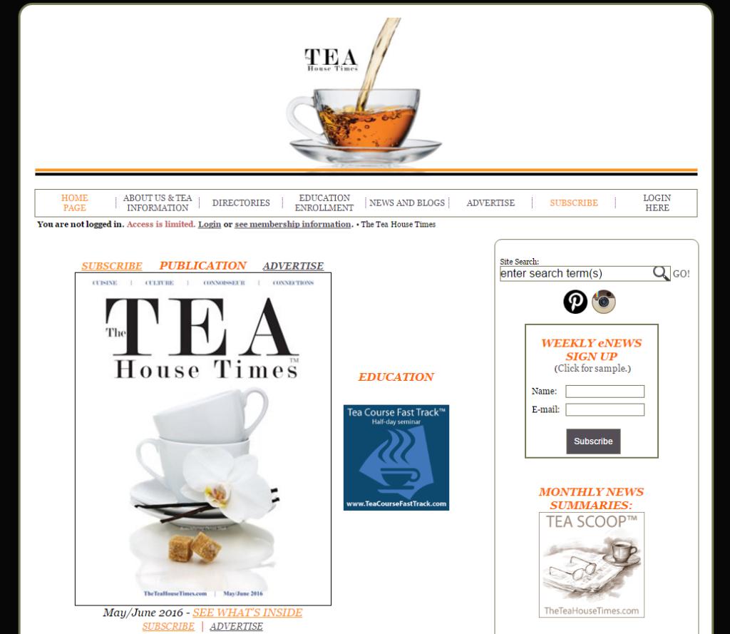 Tea House Times