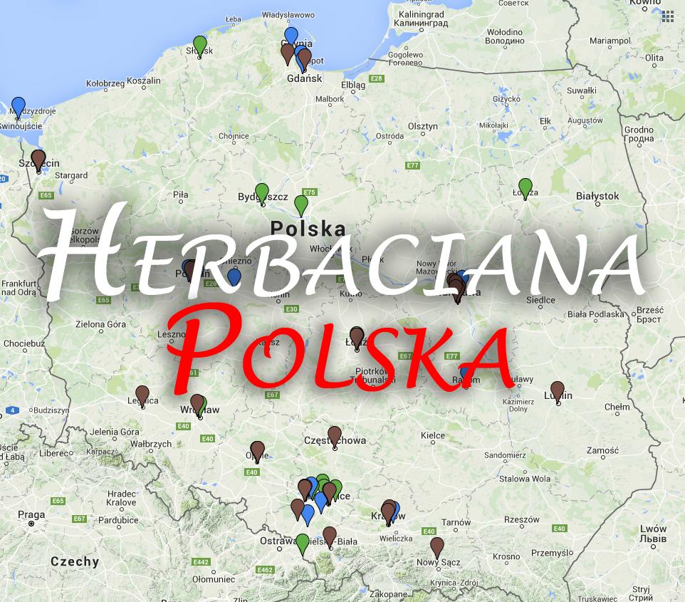 Herbaciana Polska - mapa