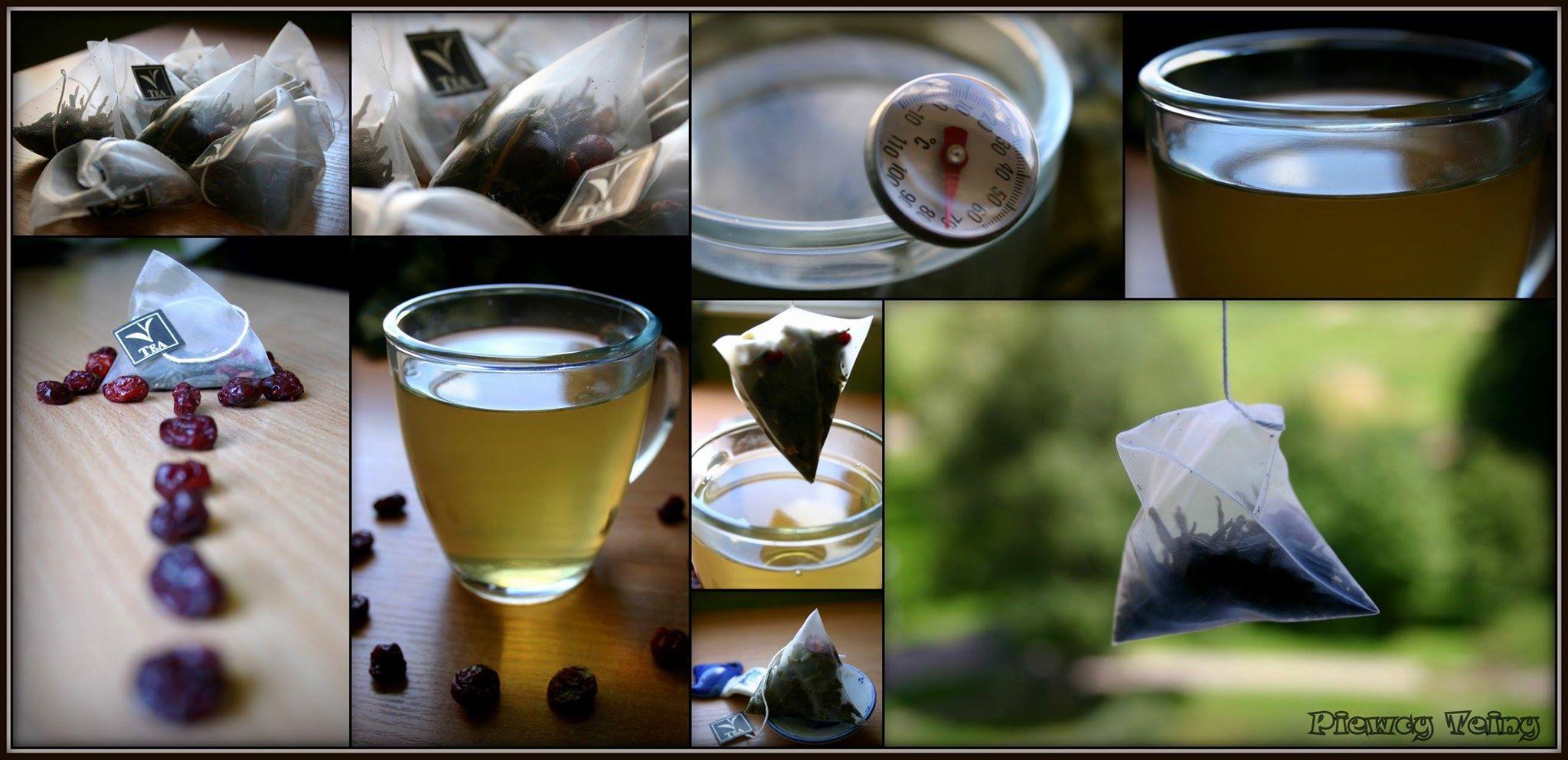 Sencha żurawinowo-truskawkowa… wtorebce