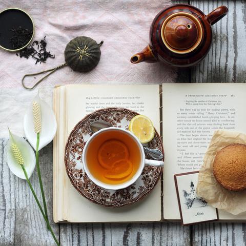 Książka iherbata – łańcuszek – Tea Book Tag