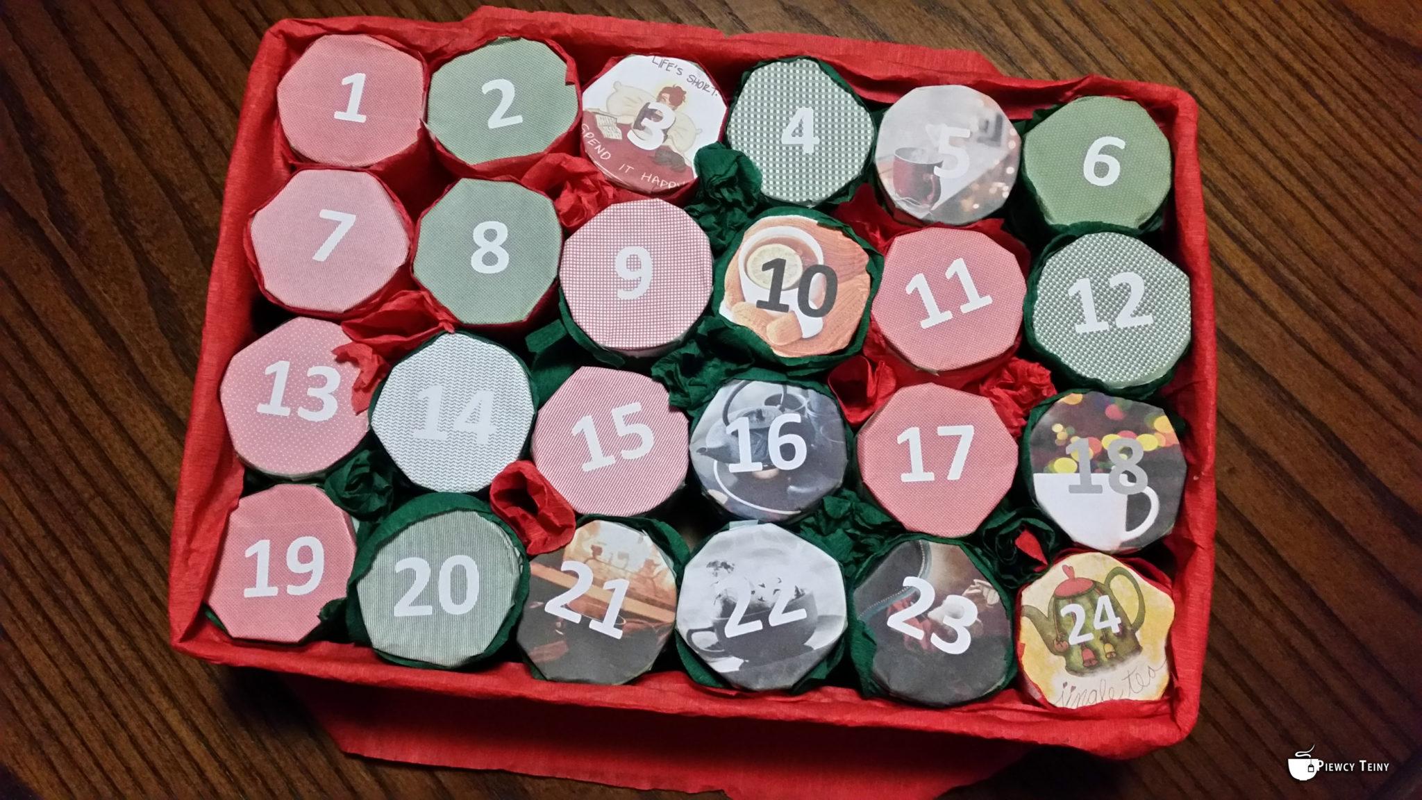 Herbaciany kalendarzyk adwentowy