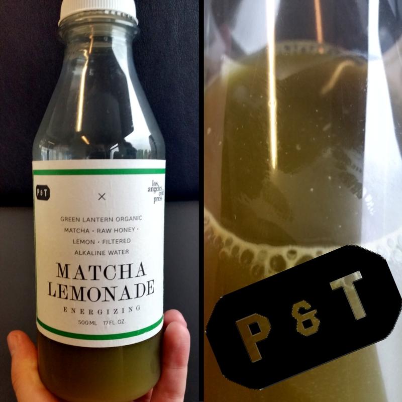 Lemoniada zmatchą zPaper&Tea