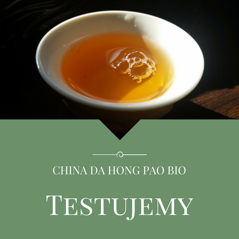 Testujemy: China Da Hong Pao Bio