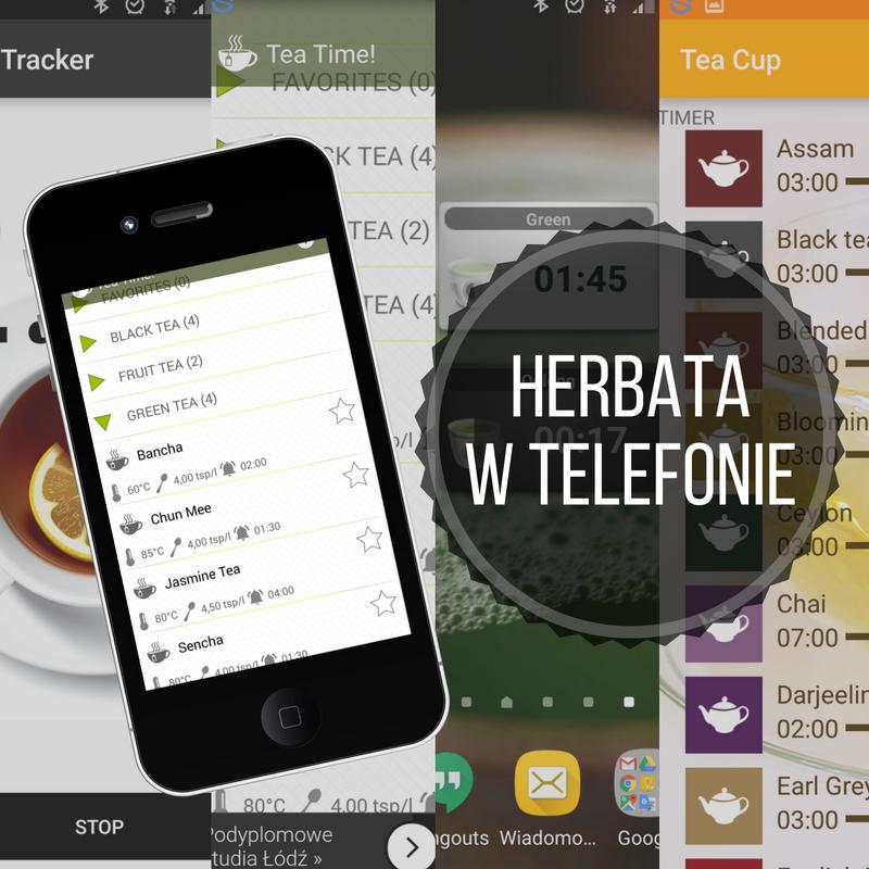 Herbata wtelefonie – aplikacje naAndroida