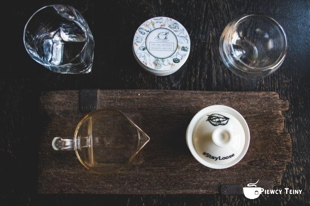 Zestaw herbacianych gadżetów