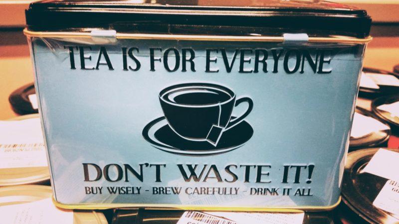 Kupuj ipij świeżą herbatę