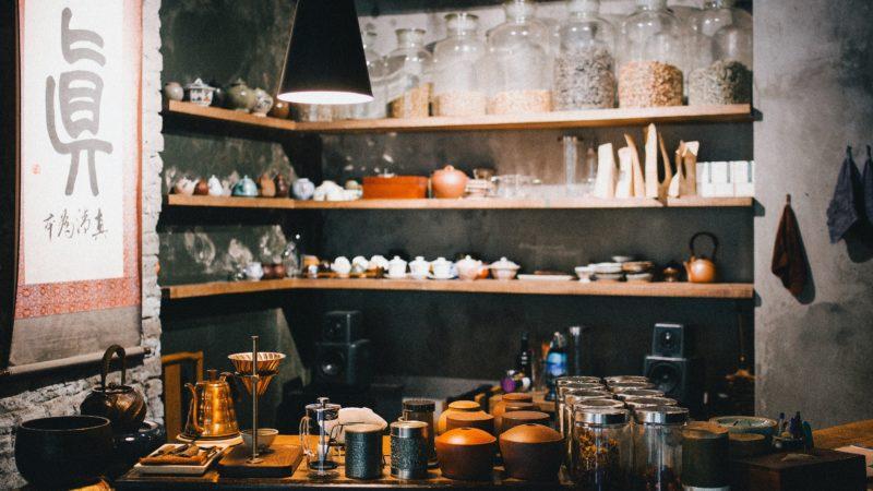 Transparentność narynku herbaty