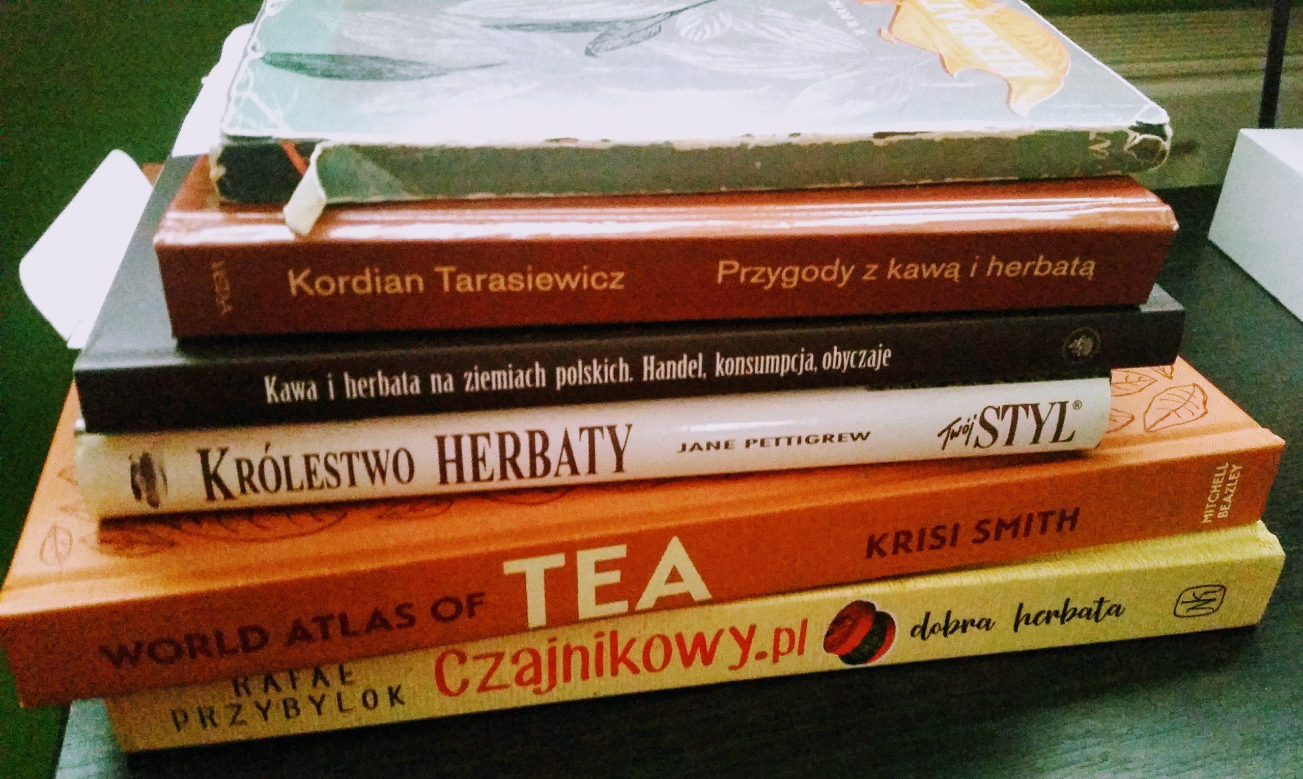 Książki oherbacie popolsku iangielsku
