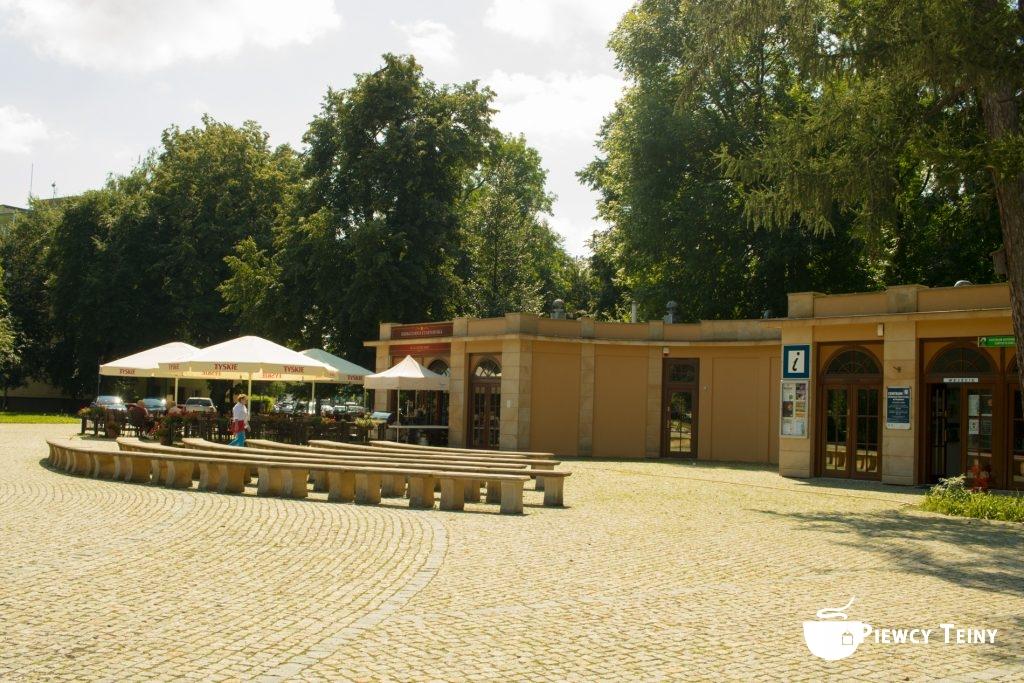 Herbaciarnia Czartoryska ipunkt informacji turystycznej wPuławach