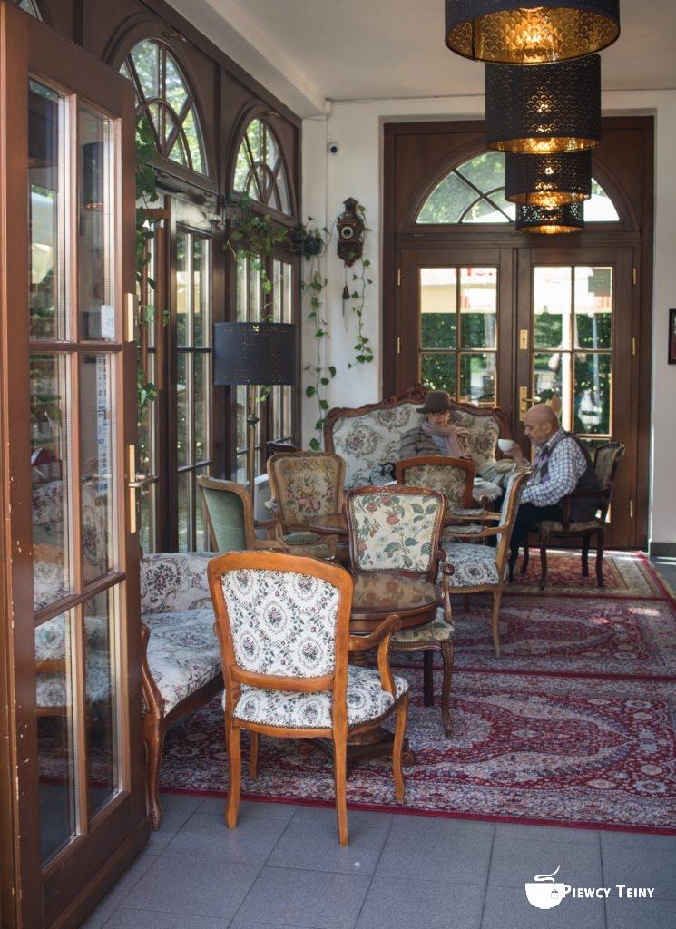 Wnętrze herbaciarni Czartoryskiej